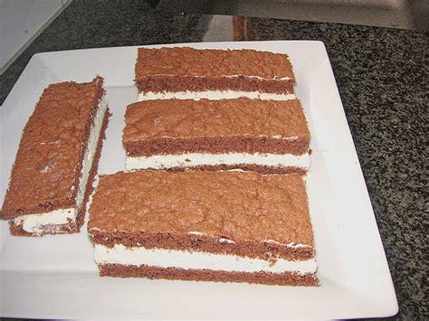 milchschnitte kuchen milchschnitte 225 la qimiq rezept mit bild julisan