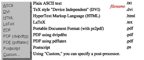 lyx layout menu structured writing with lyx