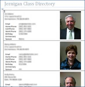 picture directory template word merge picture directory bvcms documentation