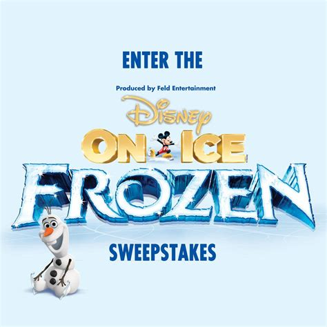 Todays Sweepstakes - last day to enter the disney on ice frozen sweepstakes