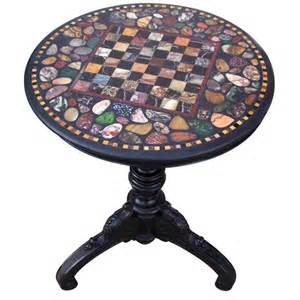 marble top specimen chess table at 1stdibs