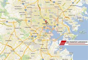 baltimore car transport services calculate shipping rates