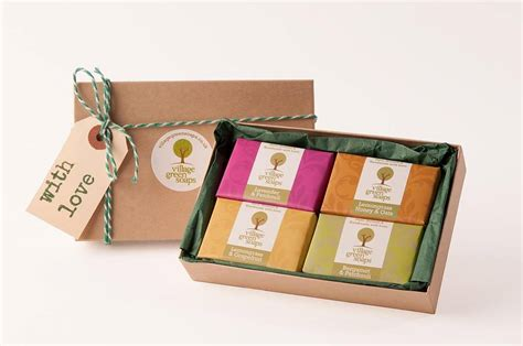 Boxes For Handmade Soap - handmade soap gift box by green soaps