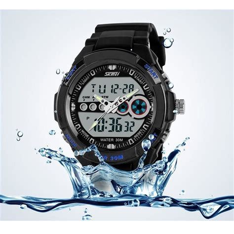 Skmei Casio Sport Led Water Resistant 30m Ad0942 Black skmei casio sport led water resistant 30m ad0942 black jakartanotebook
