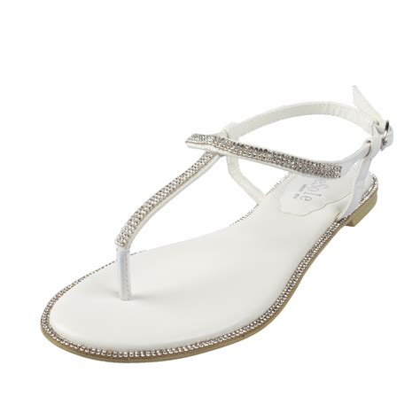 White Wedding Sandals by White Wedding Sandals Flat 28 Images Flat Bridal