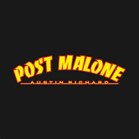 Hoodie Logo Raper Post Malone Abu post malone home malone thrasher post malone home malone thrasher t shirt teepublic