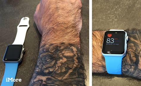 apple watch heart rate sensors and wrist tattoos what