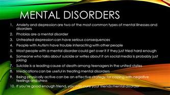 depression other mental illnesses caused by diseases it s not all in your books mental disorders anxiety and depression are two of the