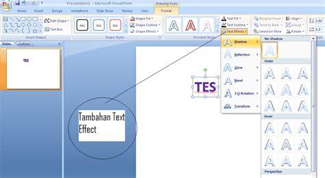 membuat power point keren 2007 membuat teks keren menggunakan microsoft powerpoint 2007