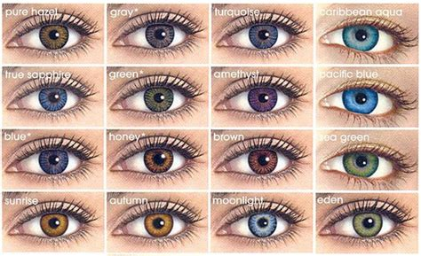 eye color changing contacts b e a uty changing your look with coloured contact lens