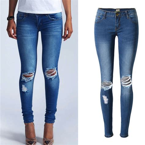 jeans online shopping low price compare prices on destroyed bleached skinny jeans online