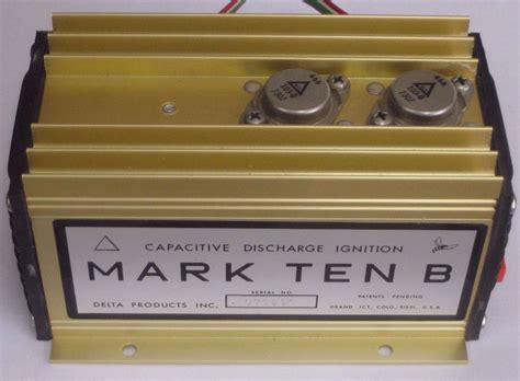 car capacitor discharge ignition selectric typewriter museum cars delta ten b cdi ignition
