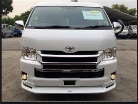 Toyota Hiace 2020 Japan by 2020 Toyota Hiace Commuter For Sale In Usa Market