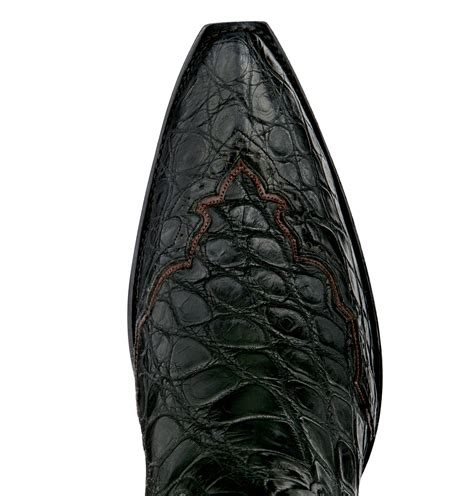 Crocodile Pedro Brown royal majestic stallion boots leather goods