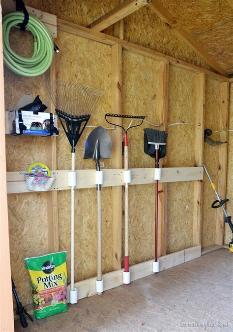 Diy Shed Organization by Tool Shed Makeover 3m Diy