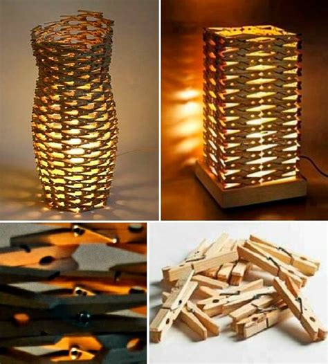 diy clothespins lamp find fun art projects home arts crafts ideas find fun art projects home arts crafts ideas
