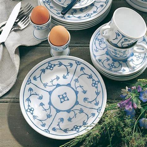Geschirr Kahla by Kahla Blau Saks Strohmuster Im Porzellantreff Kaufen
