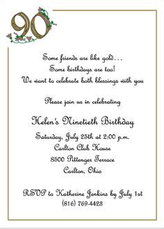 90 birthday invitations golden birthday 90th birthday
