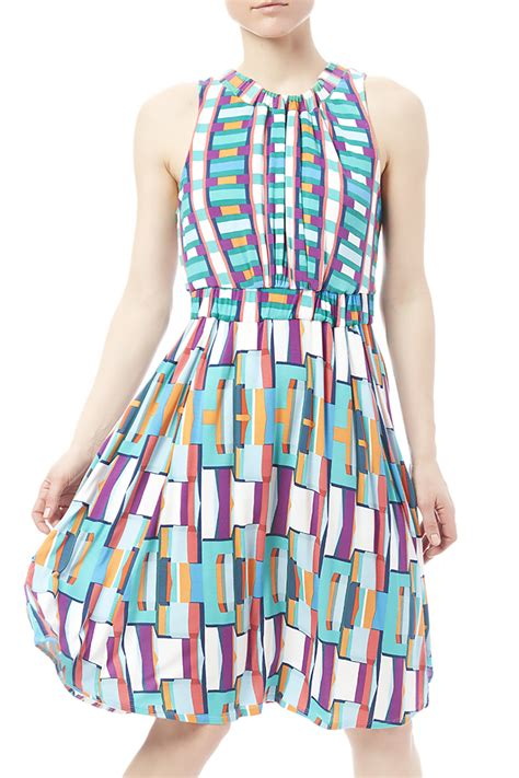 knit sundress tracy reese knit swing sundress from shore by j