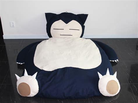 snorlax bed handmade snorlax bed make