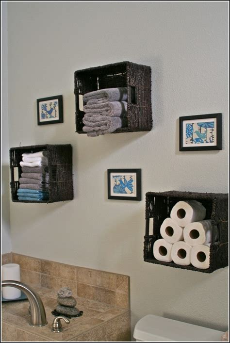 Ideas For Bathroom Wall Decor Wall Decor For Bathrooms Diy Bathroom Wall Decor Ideas