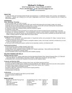 Overseas Sle Resume by Resume For Mike J Erikson International Sales Distribution Exper