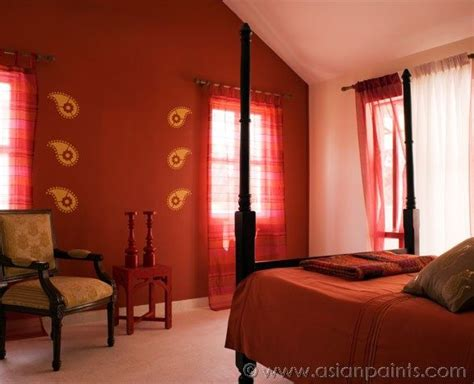 royale luxury emulsion paints  bedroom cider red