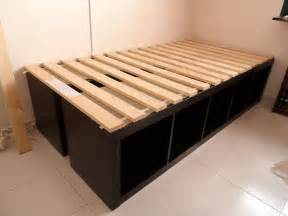 Build A Futon by How To Make A Platform Bed With Drawers Underneath