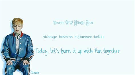 Exo Power Lyrics | exo power lyrics han rom eng color coded youtube