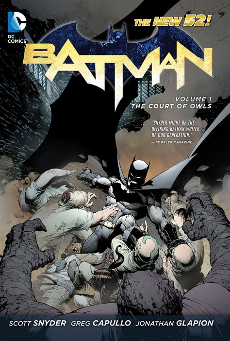 Komik Batman Vol 1 The Court Of Owls Paperback Dc Comics batman vol 1 the court of owls hardcover review ign