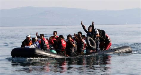 refugee migrant rescue boat rubber boat sales inflate as more migrants seek to sail to