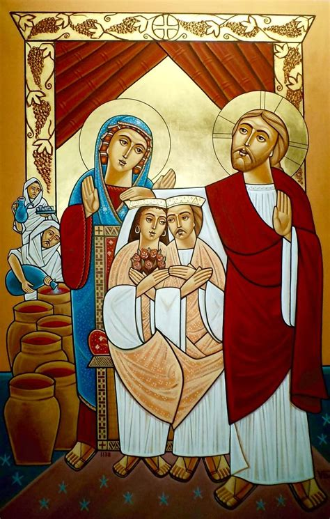 Wedding At Cana Orthodox Icon by 63 Best The Board To Cana Images On Catholic