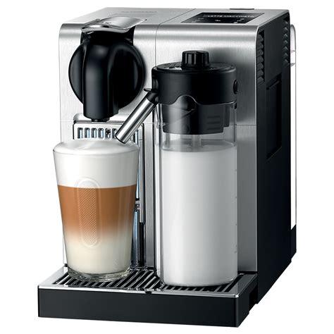 delonghi nespresso lattissima pro aluminium coffee machine s of kensington