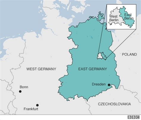 map east germany west germany map of germany east and west germany border pictures to