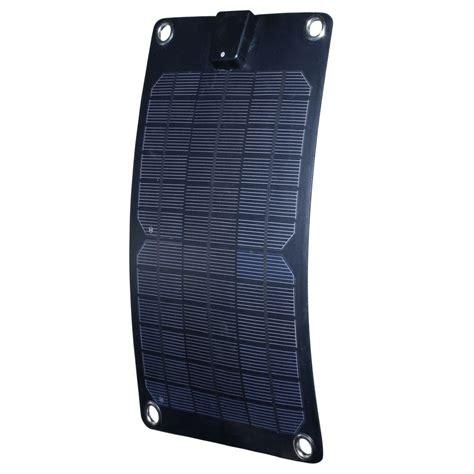 Solar Surya 12volt 5watt nature power 5 watt semi flex monocrystalline solar panel 12 volt battery maintainer 56802 the