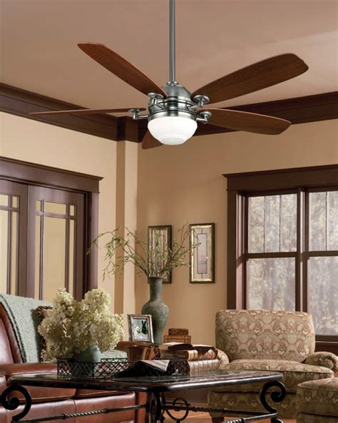 Ceiling Fan Living Room Living Room Ceiling Fans Isotope Ceiling Fan From Casablanca Fan Co Modern Living Room By