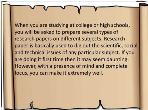 tips for writing a research paper in college tips to write a research paper