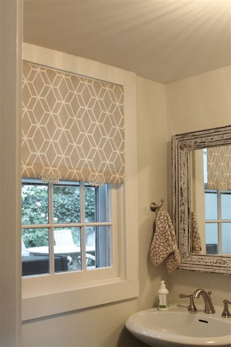 Fabric Window Blinds The Picket Fence Projects So Shady White Roller Blind