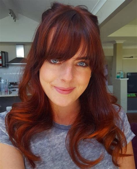 chestnut brown hair color for middle age women 60 auburn hair colors to emphasize your individuality