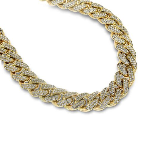 golden with diamonds gold necklace for necklace