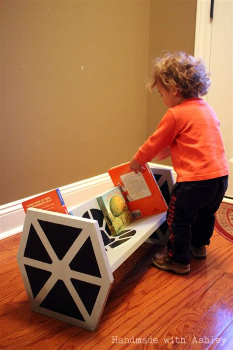 ana white diy star wars tie fighter bookshelf diy projects