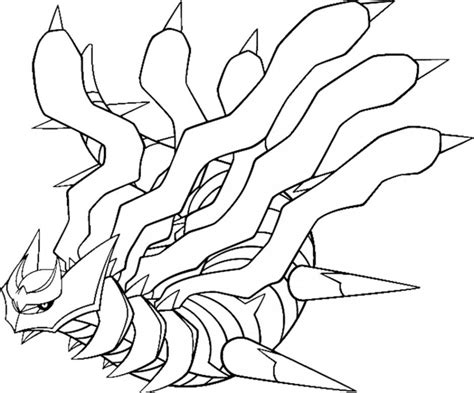 pokemon giratina coloring pages coloring home