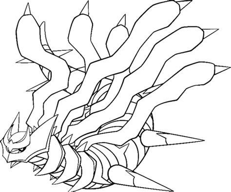 pokemon coloring pages giratina pokemon giratina coloring pages coloring home