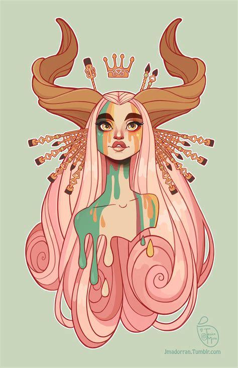 design art tumblr commission muse by meomai on deviantart