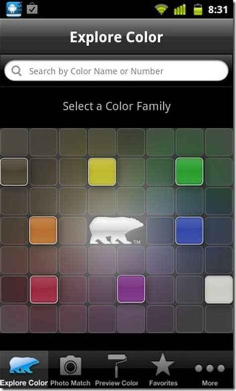 colorsmart for android eye dropper tool for behr paint colors more