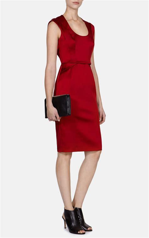Dress Stretch millen signature stretch satin dress in lyst