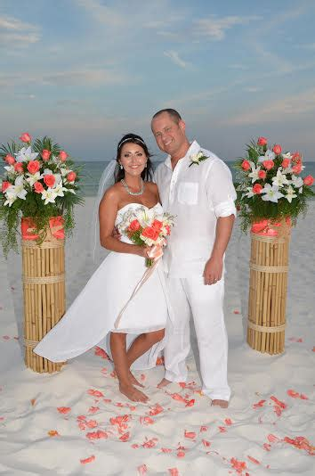 Folding Chair Decorations For Wedding Affordable Destination Florida Beach Wedding Packages