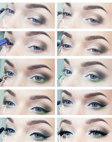 eyeshadow tutorial green eyes blue eye makeup tutorial