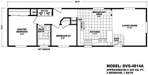 640 square floor plan value 4814a homes direct