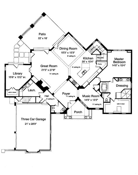 dream house blueprints estate dream home plans dream home house plans dream